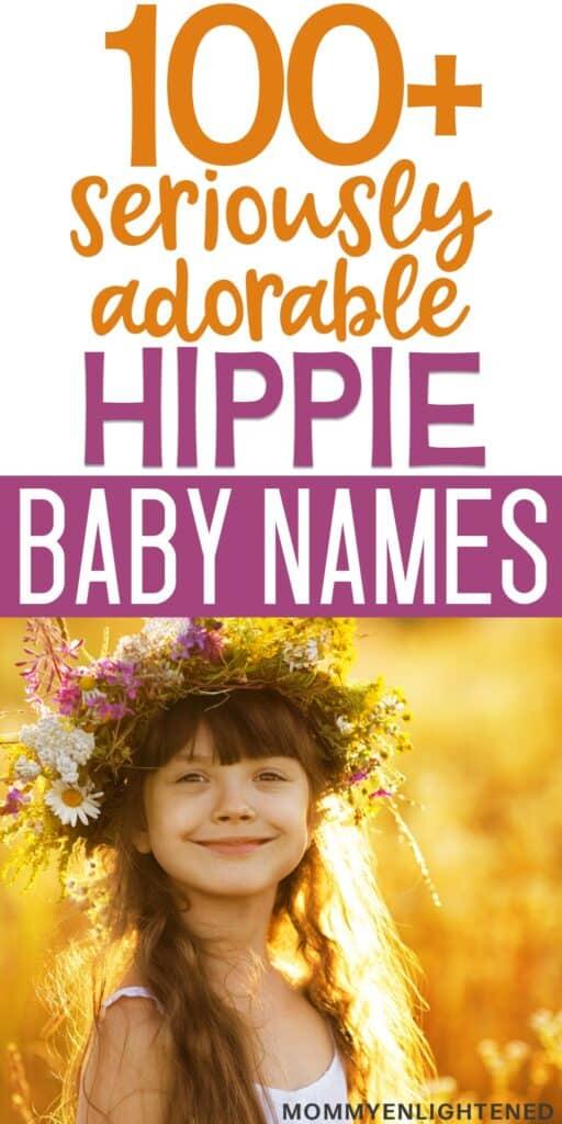 hippie names pinterest pin
